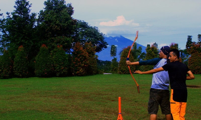archery di camp ground puncak