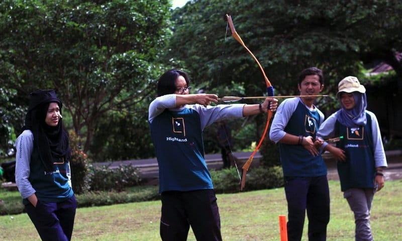archery di camp puncak bogor