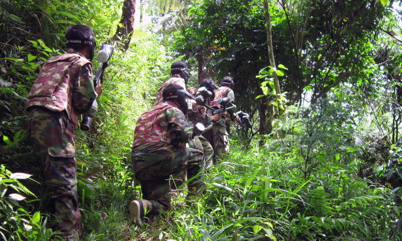 Lokasi paintball di Puncak