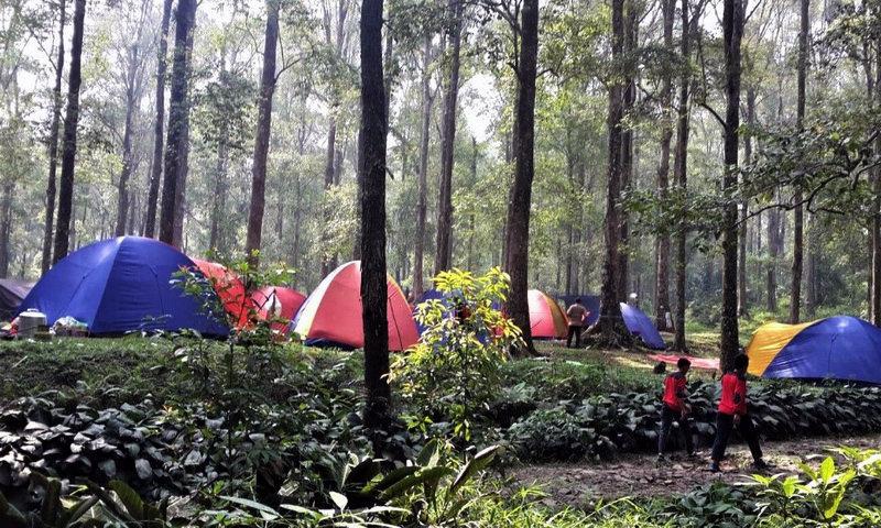 Camping Ground Gunung Bunder Bogor