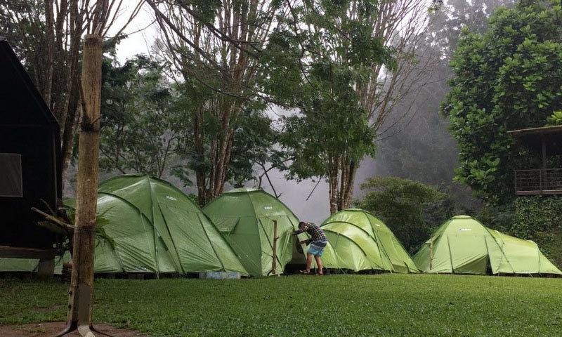 Camping di Tanakita camp Sukabumi