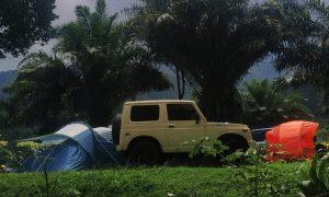 tempat campervan di puncak
