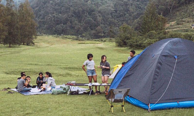 Bukit Golf Camping Ground Cibodas