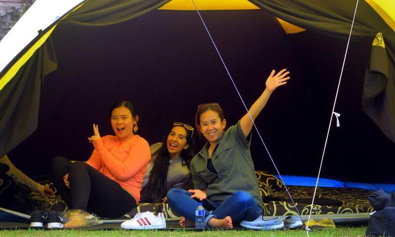 camping di highland camp puncak