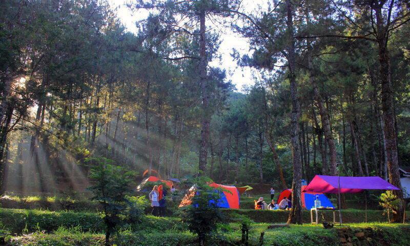 tempat Camping keluarga