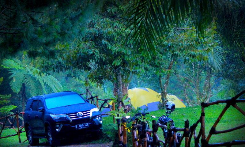 camping ground curug naga tam