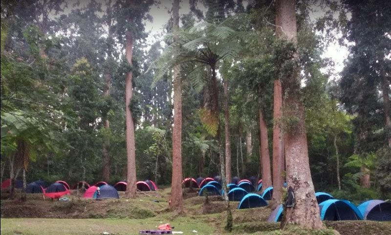 camping ground di sukabumi situ gunung