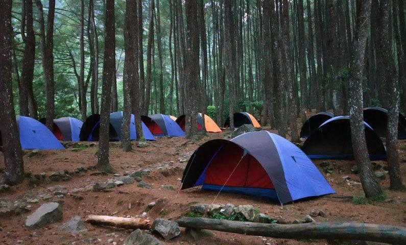 camping ground loji di bogor