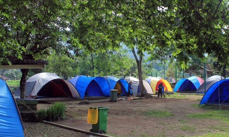 citra alam riverside camp puncak
