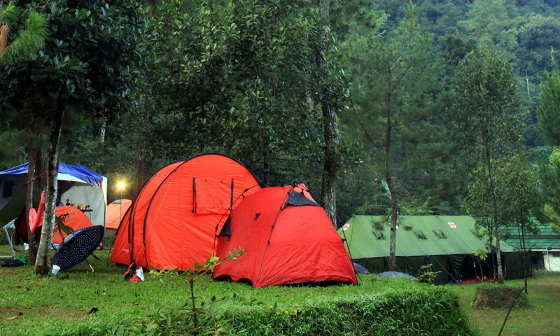 curug naga camping ground highland