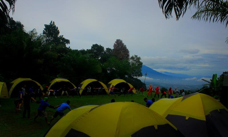 curug naga camping ground tam