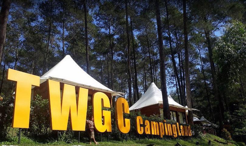 grafika cikole camp ground bandung