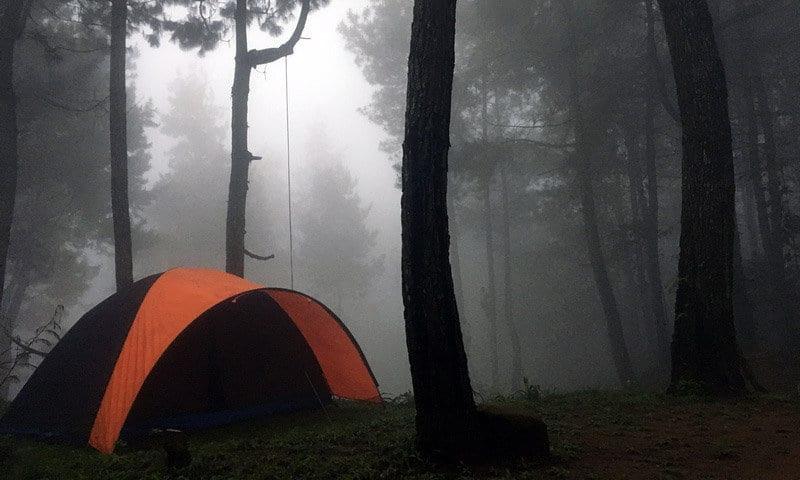 highland camp curug naga