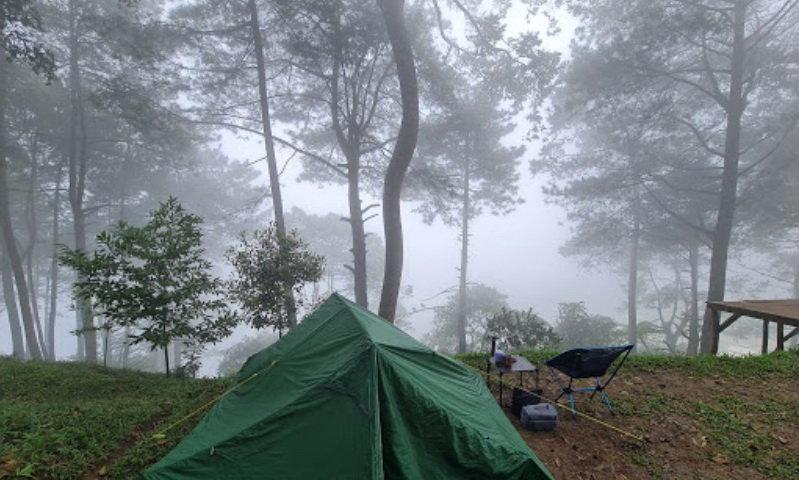 puncak langit camping ground