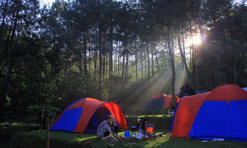 camping keluarga di bogor