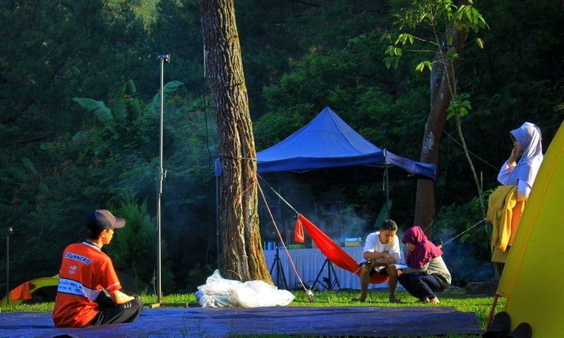 tempat camping keluarga di bogor