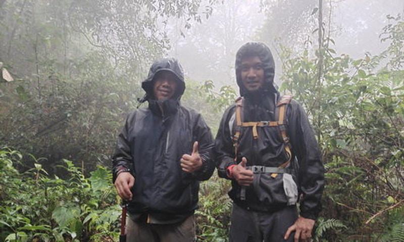 trekking di puncak bogor