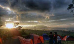 view gayatri adventure camp puncak