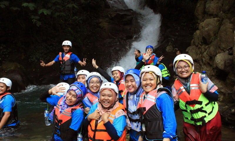 wisata air terjun plus adventure curug naga