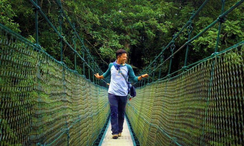 wisata canopy trail cibodas